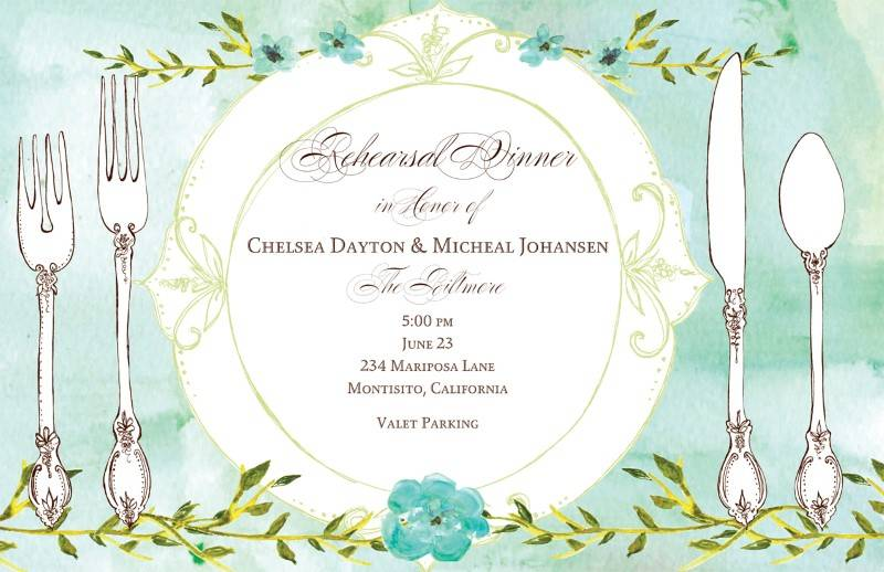 5 Beautiful Bridal Brunch Invitations