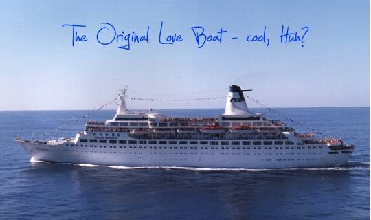 "Who Else Wants To Get Married On ""The Love Boat""?"