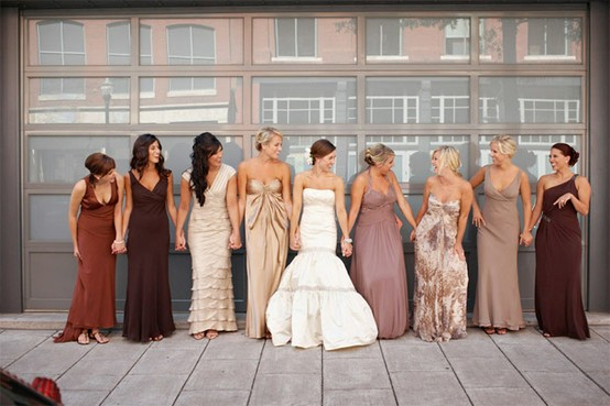 Different Bridesmaid Dresses