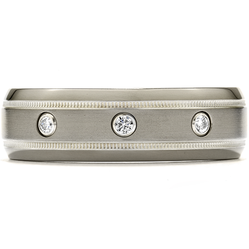 Men's Wedding Bands Can Be Attractive, Too!