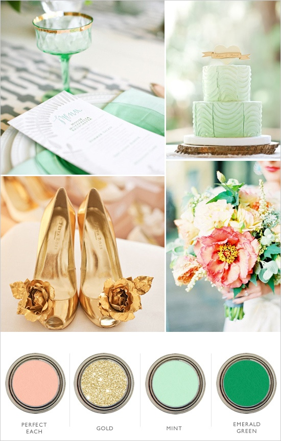 3 beautiful wedding color palettes for 2013 wedding fanatic 3 beautiful wedding color palettes for 2013 junglespirit Gallery