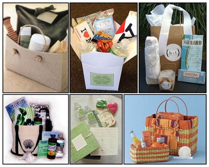 Wedding Gifts Welcome Baskets For Out Of Town Guests