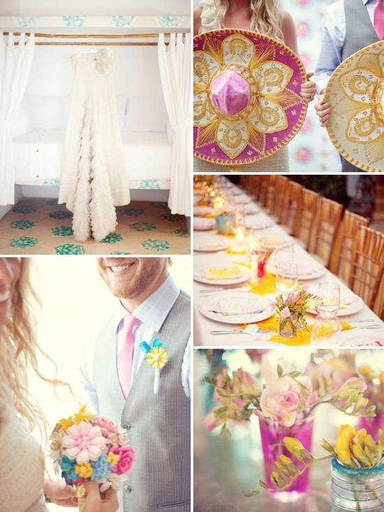 5 Beautiful Alternative Wedding Palettes