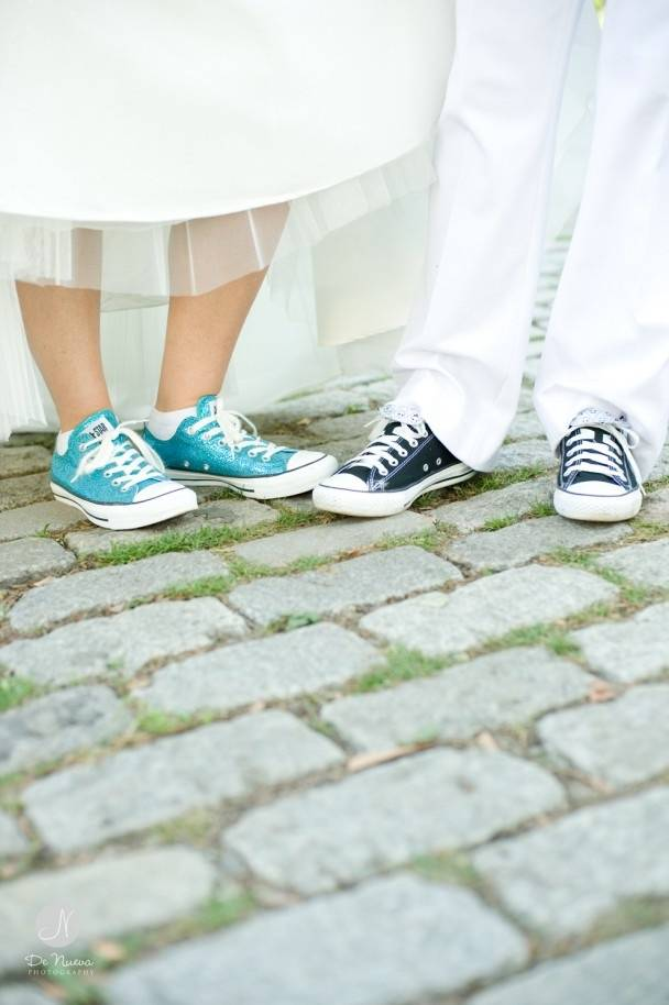 Converse Wedding Shoes