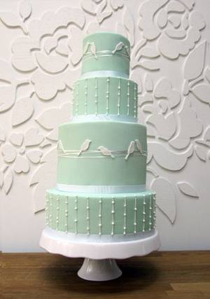 5 Amazing Bird Wedding Cakes