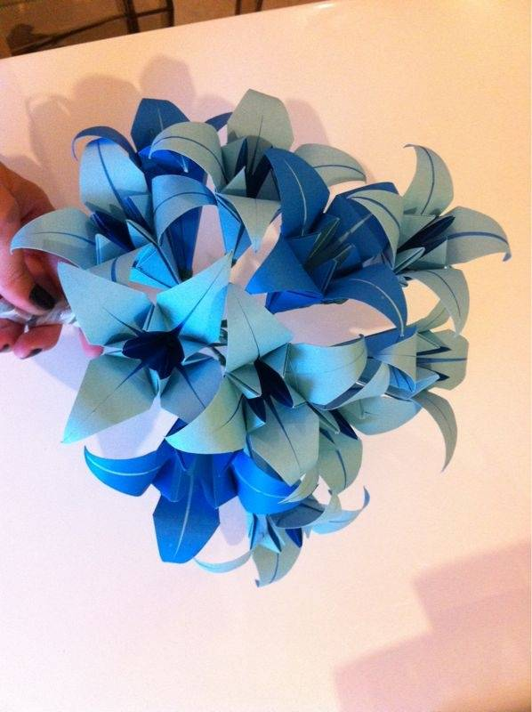 Examples of Beautiful Wedding Origami