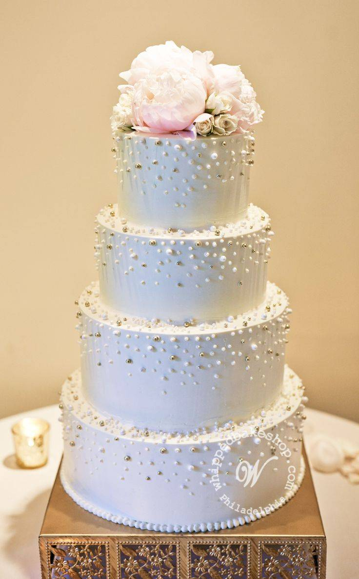 wedding cakes with roses and pearls a pearl inspired wedding wedding fanatic 26108
