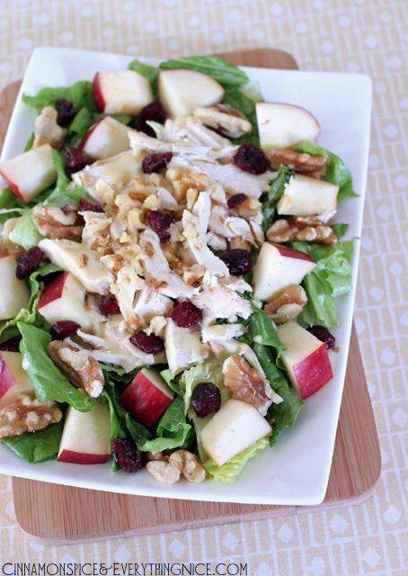 Cold Reception Appetizer DIY: Apple Chicken Salad