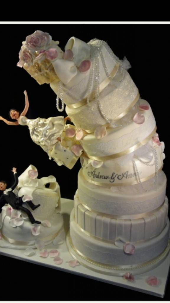 5 Crazy Wedding Cakes