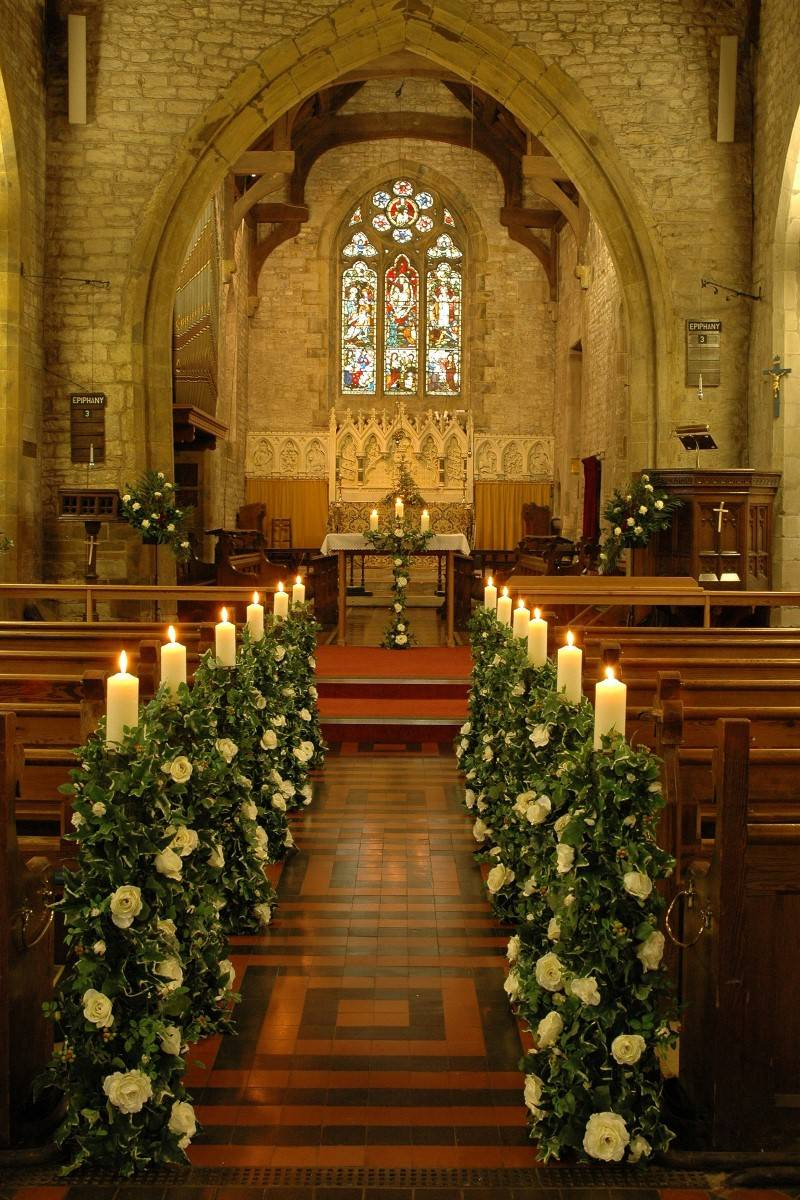 Aisle inspiration beautiful wedding aisles wedding fanatic for Aisle decoration